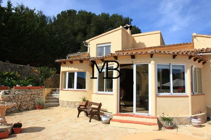 Ref:V00324DM-DOMUSMORAIRA Villa For Sale in moraira