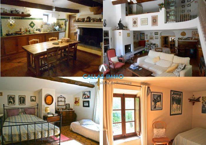 Maison ancienne Seillans isolé 152 m²