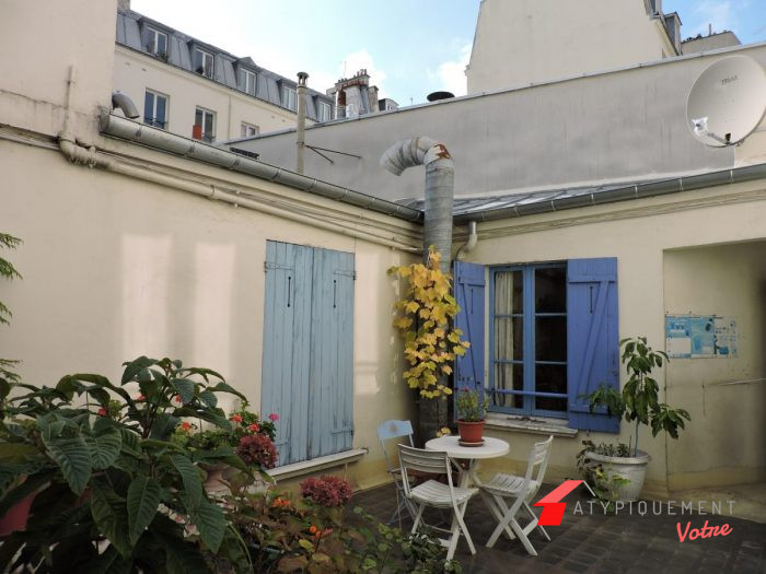Stunning appartement atypique paris contemporary for Studio atypique paris