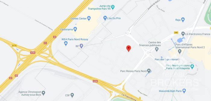 Location annuelleBureau/LocalVILLEPINTE93420Seine Saint DenisFRANCE