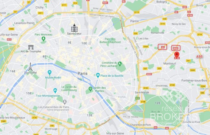 Location annuelleBureau/LocalMONTREUIL93100Seine Saint DenisFRANCE