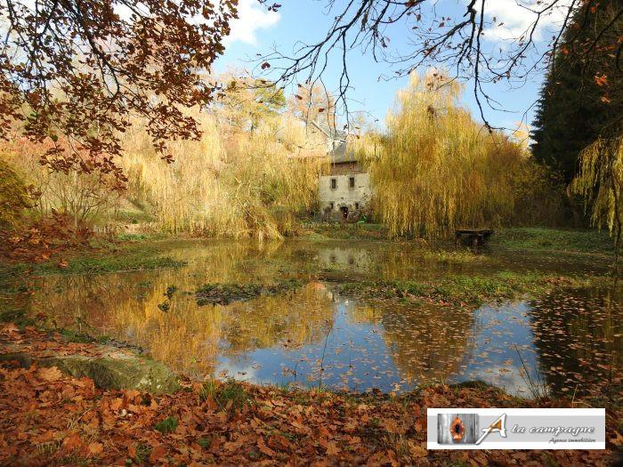 photo de Ancien moulin situé le long de la rivière la Noisette