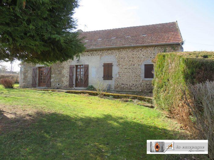 Charmante petite maison de plain pied et de campagne a la campagne immobilier pionsat - Petite maison de plain pied ...