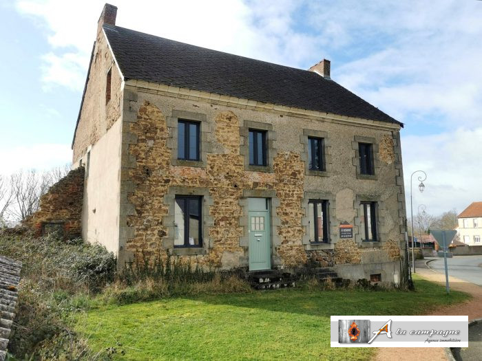 This large stone house with character is waiting to be renovated by you!