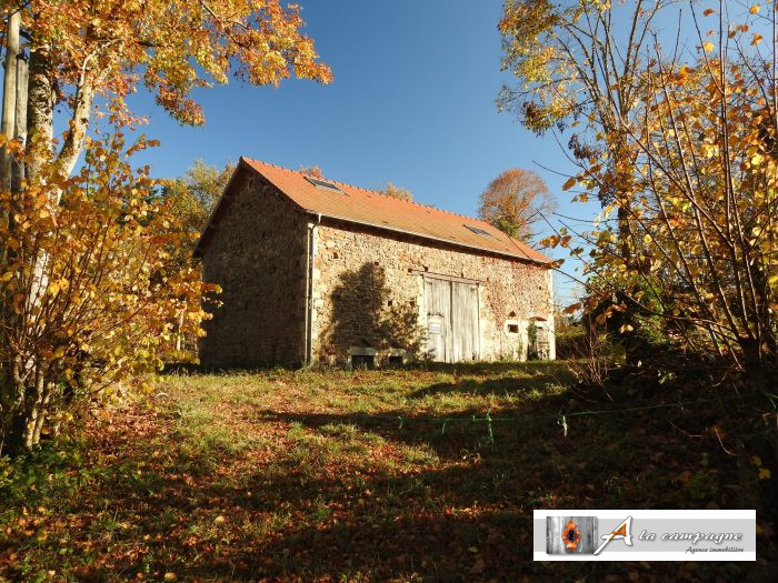 Stone barn with new roof and an old cottage located in a very quiet hamlet.
