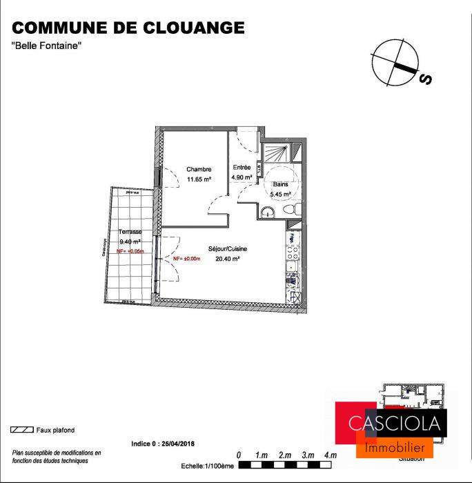 photo de T2 neuf Clouange centre avec Terrasse et parking
