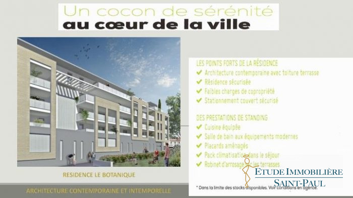 Photo APPARTEMENT TERRASSE T3 image 2/4