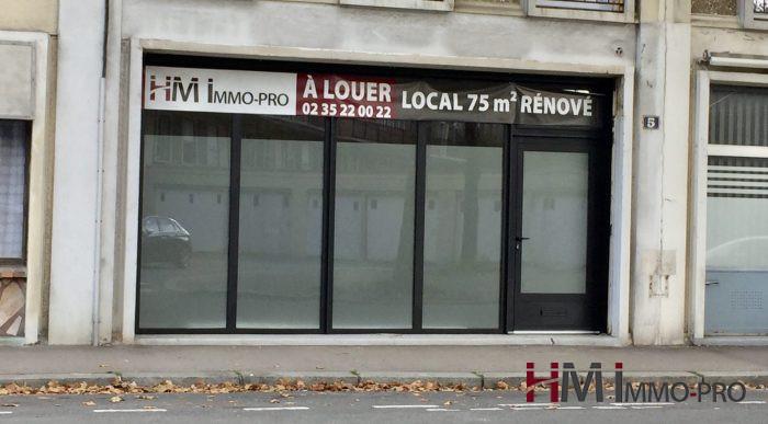 Bureau Le Havre : Au havre secteur calme et pratique à louer en rdc un local à usage