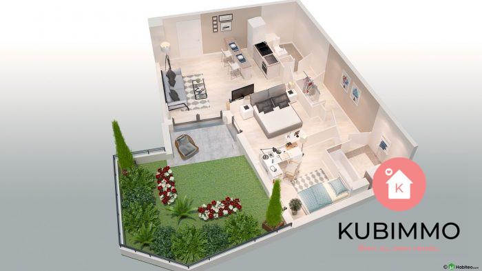 Appartement 3 pièces 59 m²  Poissy Secteur 1
