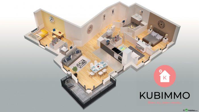 4 pièces Poissy Secteur 1 Appartement 81 m²