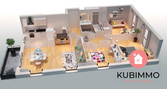 72 m²  Appartement 4 pièces Poissy Secteur 1