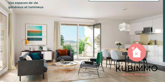 3 pièces  Appartement 61 m² Clichy