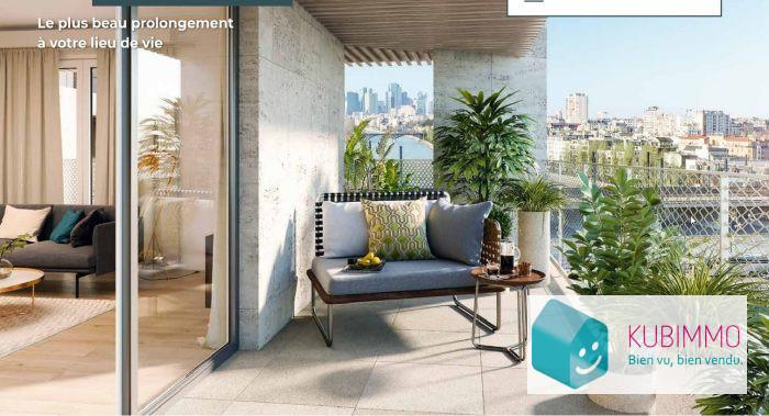3 pièces  64 m² Appartement Clichy
