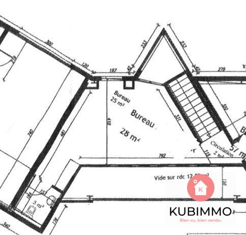28 m² Immobilier Pro 1 pièces Chanteloup-en-Brie
