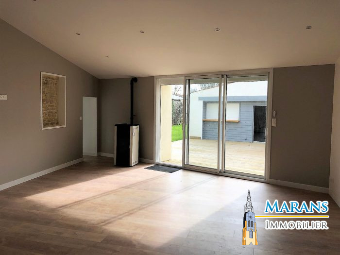 Maison en pierre rénovée - MARANS IMMOBILIER, Marans