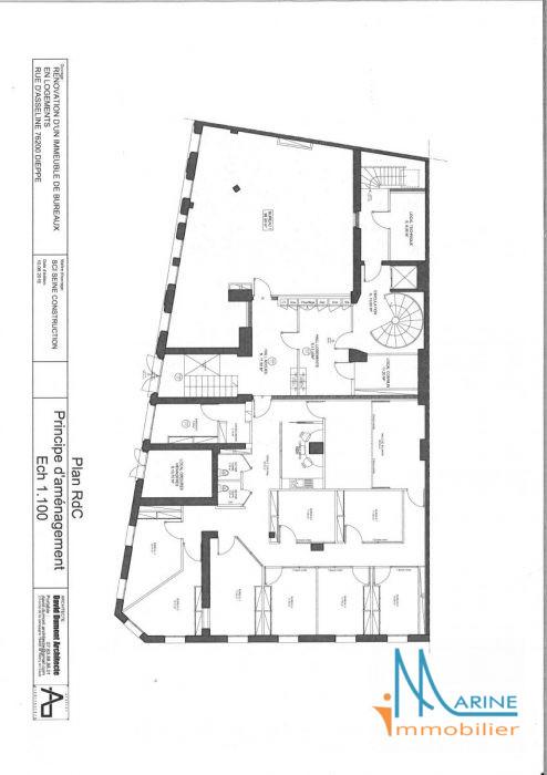 bureau neuf centre ville de dieppe. Black Bedroom Furniture Sets. Home Design Ideas