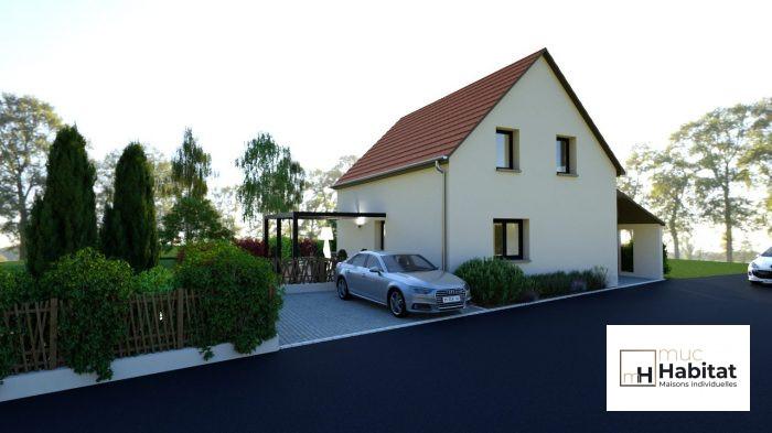 Maison individuelle 95m² avec  garage et sous sol