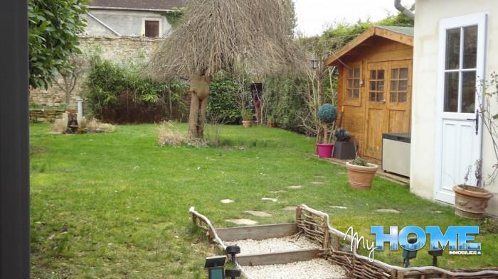 vendu maison 6 pieces avec jardin my home immobilier cergy. Black Bedroom Furniture Sets. Home Design Ideas