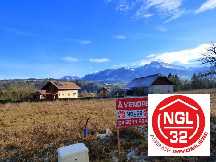 VenteTerrainSAINT-MARTIN-BELLEVUE74370Haute SavoieFRANCE