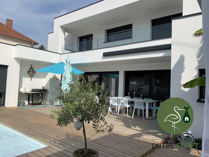 Villa Toit Plat Agence Immobiliere De L Outre Foret Soultz