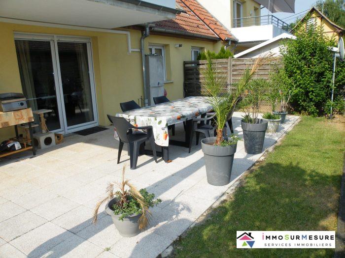 Appartement 4 pièces 81 m2 avec rez-de -jardin 100m² ...