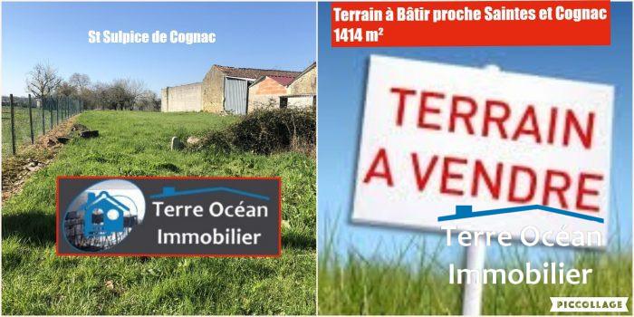 VenteTerrainCOGNAC16100CharenteFRANCE