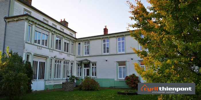 Maison Bourgeoise Hyper Centre Abbeville 7 Chambres Et Jardin