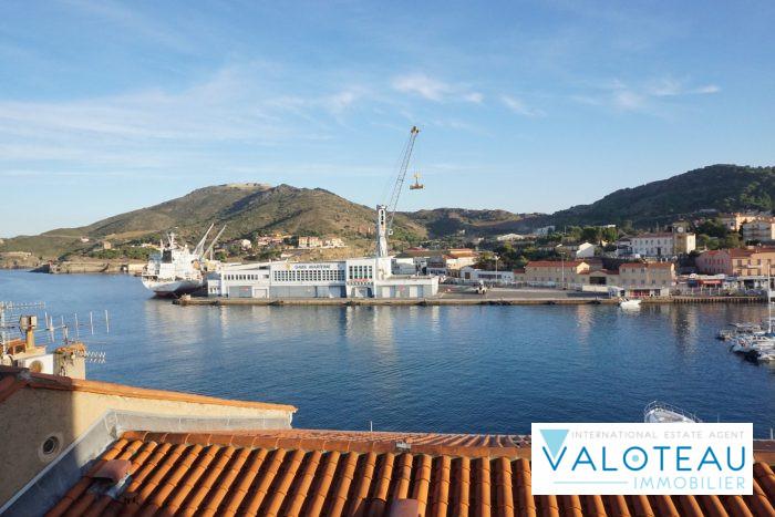 photo de Port Vendres  appartement 1 pièce   vue sur le port