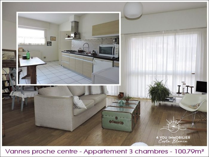 photo de Vannes, bel appartement de 100m² , 3 chambres