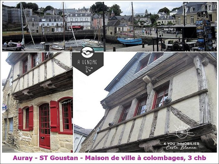 photo de Auray , Jolie maison à colombage de 102 m²  269100 €