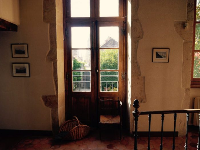 En Bourgogne, Gevrey Chambertin, anciènne propriété viticole d'exception de la fin du 17ème