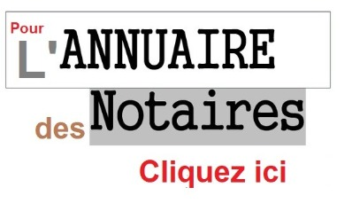 L'annuaire des notaires de France
