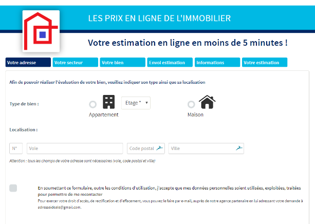 estimation gratuite immobilier appartement maison